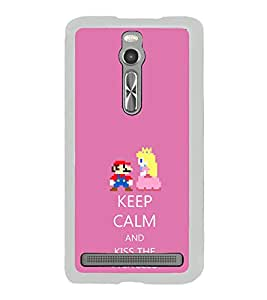 ifasho Nice Quote On Keep Calm Back Case Cover for Asus Zenfone 2