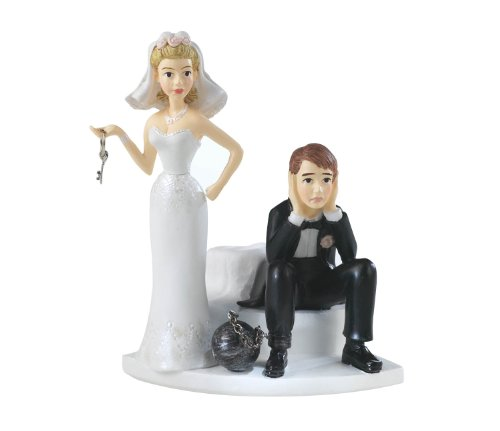 Wilton Ball and Chain Humorous Cake Topper