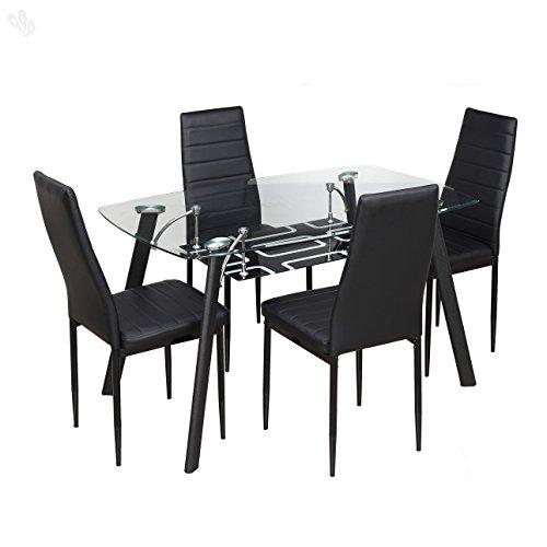 Buy Royal Oak Modern Geneva Dining Set with 6 Chairs  : 41elqO9kdLL from www.paisawapas.com size 500 x 500 jpeg 25kB