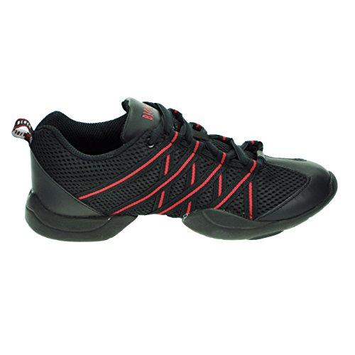 bloch-524-red-criss-cross-sneaker-55-uk-85-us