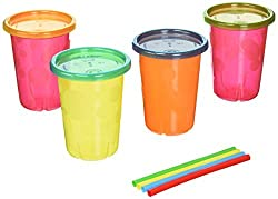 The First Years Take & Toss Straw Sippers (4 Pack) By Dr. Browns