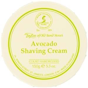 Taylor of Old Bond Street Taylor of Old Bond Street Avocado Shaving Cream In A Bowl, 5.3 Ounce