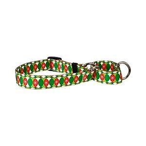 Yellow Dog Design Martingale Collar, Large, Christmas Cheer