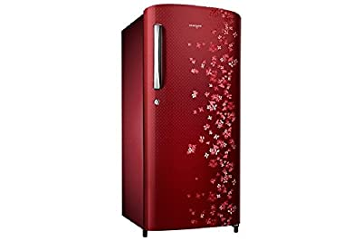 Samsung RR19H1724RY/TL Direct-cool Single-door Refrigerator (182 Ltrs, Red)
