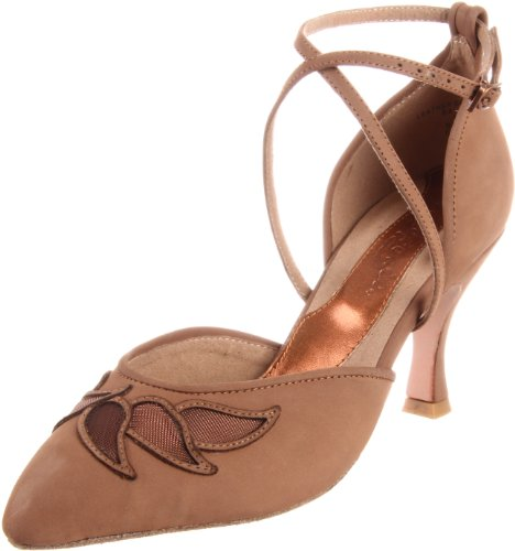 Capezio Women's Dancesport Autumn 2.5 Inch Shoe,Fawn,7 M US