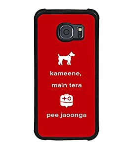 Printvisa Ultra Kameene 2D Hard Polycarbonate Designer Back Case Cover for Samsung Galaxy S6 ...