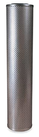 "Schroeder KK10 E-Media Hydraulic Filter Cartridge, Cellulose, Removes Rust, Metallic Debris, Fibers, Dirt; 18"" Height, 3.9"" OD, 1.625"" ID, 10 Micron"