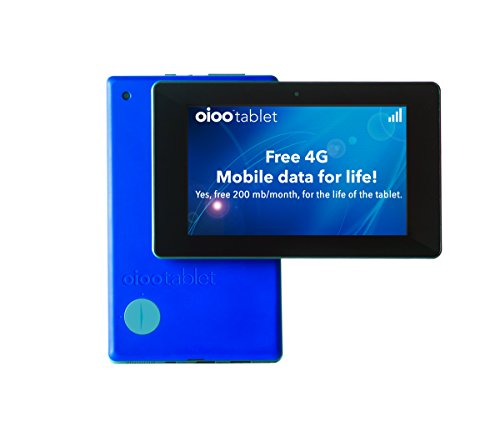 OIOO 7-inch 4G Tablet – with FREE T-Mobile Internet for Life