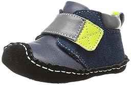 See Kai Run Sanju Boot (Infant/Toddler),Navy,6-9 Months (Infant)
