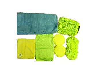 Peak Microfiber Complete Car Wash Kit w/ Storage Case by Peak