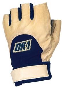 OK-1 48115 Half Finger Left Hand Impact Glove, Tan, 2X-Large