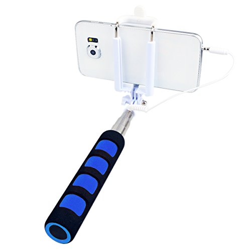 dizaul selfie stick no battery cable selfie monopod for iphone samsung cameras optics camera. Black Bedroom Furniture Sets. Home Design Ideas