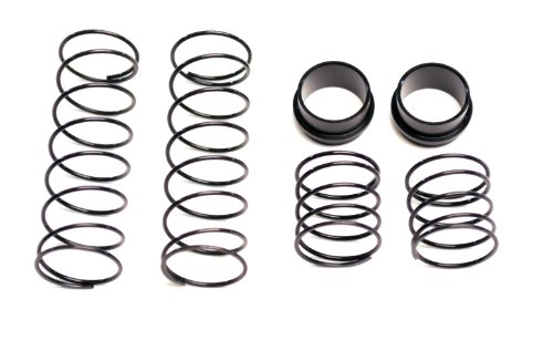 Racers Edge TU02666 Medium Big Bore Spring with Collar, 2-Piece