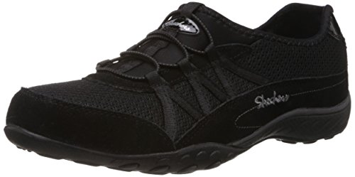 Skechers Sport Women's Relaxation Fashion Sneaker,Black 8.5 B  Medium