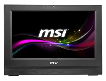 """MSI AP190-B10374G50SXASX Ordinateur de bureau 18.5 """" 4 Go FreeDOS (Import - clavier non AZERTY)"""