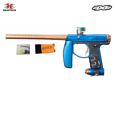 Empire Axe Paintball Marker (Dust Blue/Brass) (Solenoid Dye compare prices)