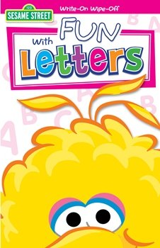 Sesame Street - Fun with Letters Write On Wipe Off Book Party Accessory