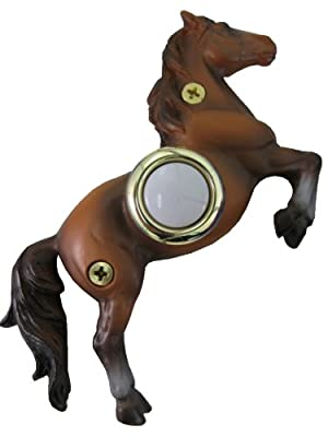 Company's Coming DBP-078 Horse Painted Doorbell Cover