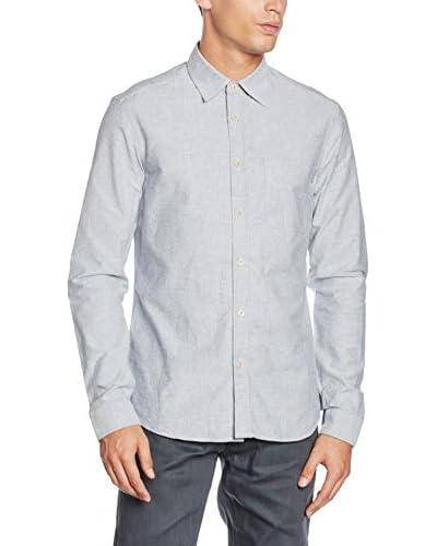 Belstaff Camisa Hombre Grid