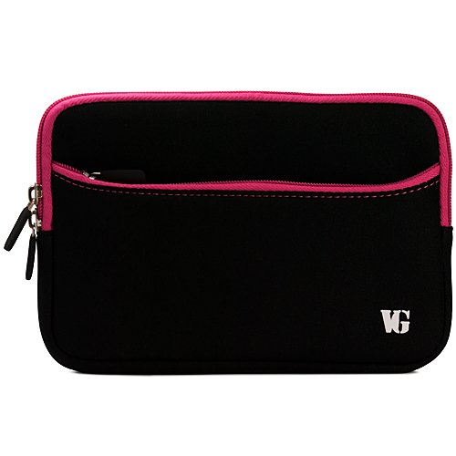 Magenta Trim Durable Neoprene Laptop Sleeve Carrying Case for Asus 15.6-inch Laptop Series U50, U50A, U50F, U50V, UL50, UL50AG, UL50VT, UX50V