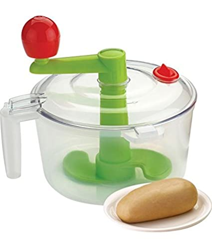 Nestwell 2 in 1 Atta Maker bucket plus vegetables churn n chops Green  available at Amazon for Rs.193