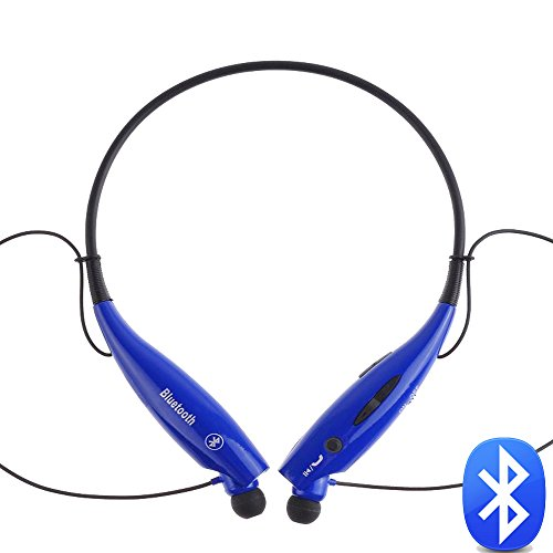 """Best_Express """"U"""" Series Universal Hv-800 Wireless Music A2Dp Stereo Bluetooth Headset Universal Vibration Neckband Style Headset Earphone Headphone For Cellphones Such As Iphone, Nokia, Htc, Samsung, Lg, Moto, Pc, Ipad, Psp And So On & Enabled Bluetooth ("""