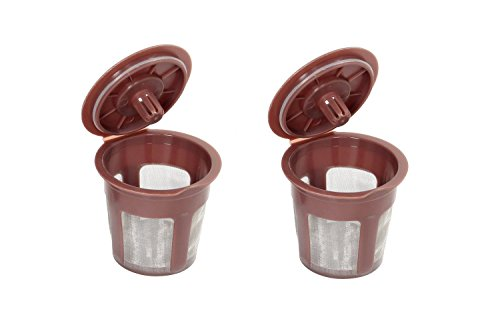Loogime 2 Pack My K-cup Reusable Coffee Filter
