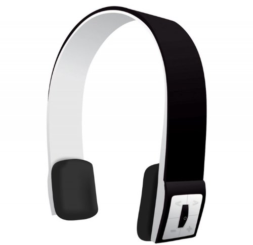 Black Infinity Bluetooth Wireless Headphones With Music Controls And Call Mic