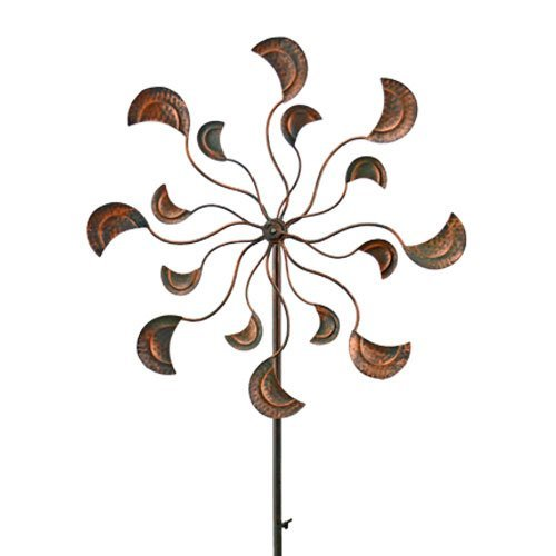 Red Carpet Studios 34282 64-Inch Breeze Buddies Wind Spinner, Flower Petals