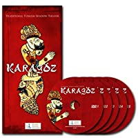 Turkish Traditional Shadow Theater: Karagoz (Five-Disc Collector's Edition - English Book Version)
