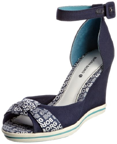Bjorn Borg Women's Ivana Navy Wedges 1211 086101 6 UK, 39 EU