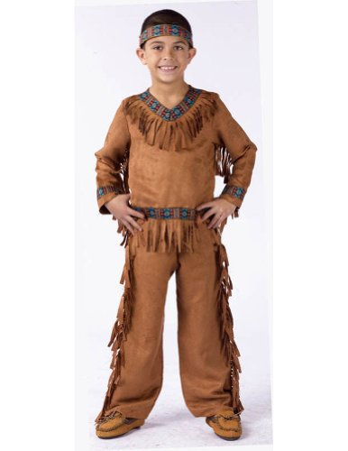 boys - American Indian Boy Child Sm Halloween Costume - Child Small
