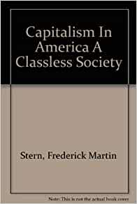 The myth of a classless american society