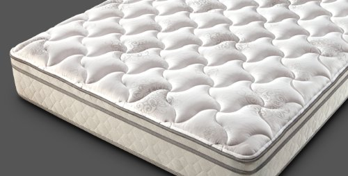 Rv Mattress Short Queen 60 X 74 / 75 Supreme Euro Top - Foam By Denver Mattress front-45007