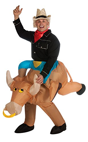 Rubie's Costume Inflatable Bull Rider, Multicolored, One Size