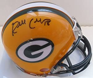Randall Cobb Signed Autograph Green Bay Packers Mini Helmet Authentic Certified Coa
