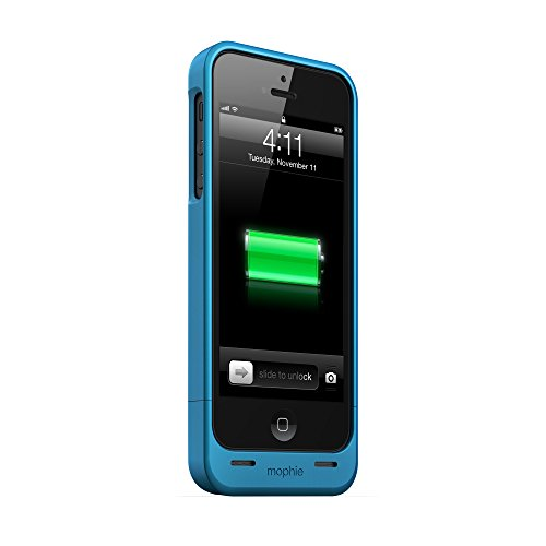 Mophie Juice Pack Helium For Iphone 5 & 5S - Retail Packaging - Blue