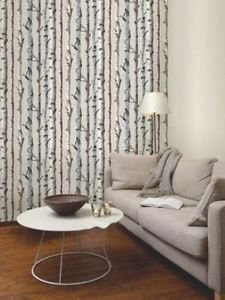 Fine Decor Birch Tree Wallpaper - Natural by New A-Brend