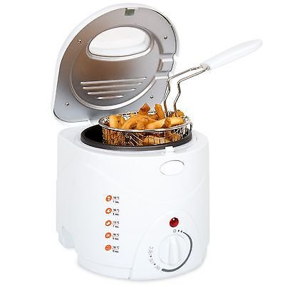 Classic Cuisine Cool Touch Small 1 Liter Deep Fryer with Wire Basket (Rival Smart Pot Lid Handle compare prices)
