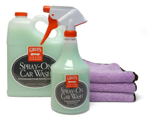 Griots Garage Waterless Spray-On Car Wash Complete Kit (Griots Waterless Car Wash compare prices)