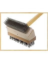 Texas Brush Junior Grill Brush Brush: Stainless/Black Steel at Sears.com