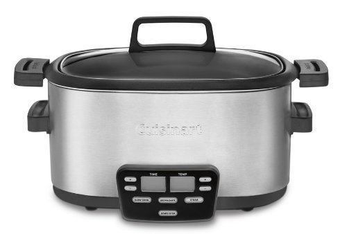 Cuisinart 3-In-1 Multi-Cooker, Slow Cooker, Steamer