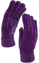 ISOTONER Women's ISO Thinsulate Platinum Chenille Gloves