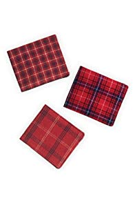 Jetsam Spiffy Lumberjack Wallet (Assorted Reds)