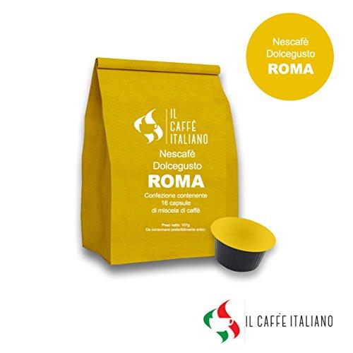 Buy 96 compatible capsules Nescafé Dolce Gusto - Coffee Roma - Il Caffè Italiano - Il Caffè Italiano