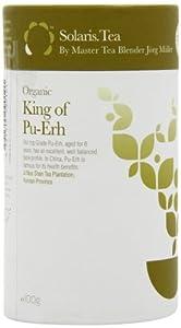 Solaris Botanicals Bio Tee King of Pu-Erh Schwarztee 100 g, 1er Pack (1 x 100 g)