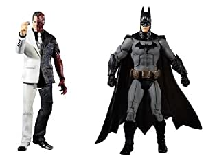 Batman Legacy Arkham City Batman and Two-Face Collector Figure 2-Pack