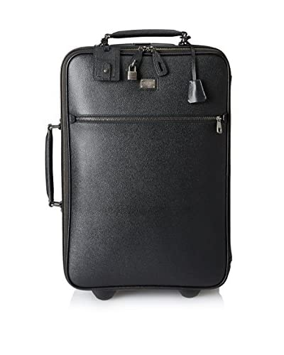 Dolce & Gabbana Dauphine Calfskin Roller Bag, Black