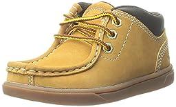 Timberland Groveton Leather Moc Chukka Boot (Toddler/Little Kid/Big Kid), Wheat Nubuck, 4 M US Toddler