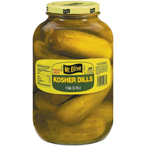 Mt. Olive - Kosher Dill Pickles - 128-Fl. Oz. (1 Gallon) Jar (Jar Of Dill Pickles compare prices)